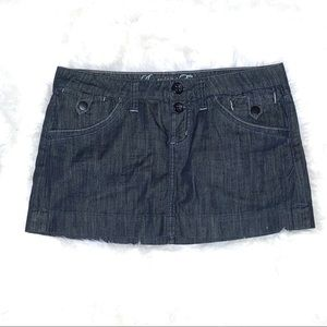 American Eagle Denim Mini Skirt Size 8
